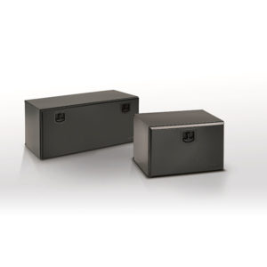 Bawer Black Powder Coated Steel Toolboxes